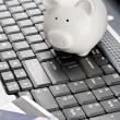 Stock Photo: Internet banking