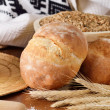 Stock Photo: Homemade bread scene
