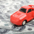 Cost of buying a car — Stock Photo