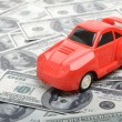 Stock Photo: Cost of buying car