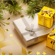 Christmas gifts — Stock Photo #28218313