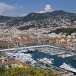 Stock Photo: Yacht harbor of Nice, France