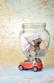 Vacation money — Stock Photo