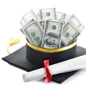 Education costs — Foto Stock