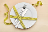 Healthy eating or dieting concept. — Stock Photo