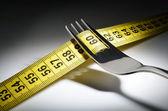 Diet eating — Stock Photo