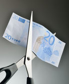Cut spending — Stock Photo