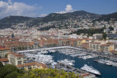 Yacht harbor of Nice, France — Stock Photo