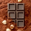 Hazelnut chocolate — Stockfoto