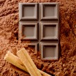 Cinnamon chocolate — Stock Photo