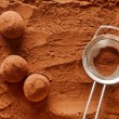 Foto Stock: Chocolate truffles
