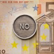 Saying No to European Union — Foto Stock