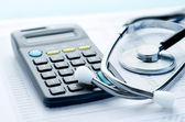 Náklady na zdravotní péči — Stock fotografie