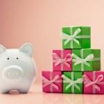 Saving for Christmas — Stock Photo