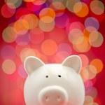 Party piggy bank — Stock Photo