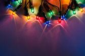 świąteczne światełka — Zdjęcie stockowe