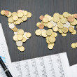 International finance — Stock Photo