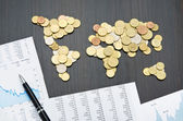 International finance — Stock Photo