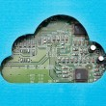 Cloud computing mechanism — Stock Photo #43428959