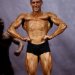 Male bodybuilder at stage — Photo