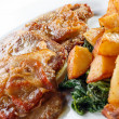 Stock Photo: Veal lRomana