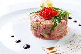 Tuna tartar — Stock Photo