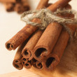 Cinnamon closeup — Stock Photo
