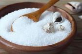 Natural sea salt — Stock Photo