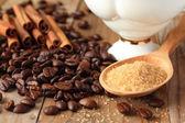 Ingrédients de café — Photo