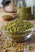原料绿豆 — 图库照片