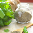 Green basil — Stock Photo #44093627