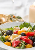 Closeup of colorful salad — Stock Photo