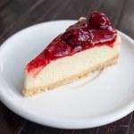 Strawberry Cheesecake — Stock Photo