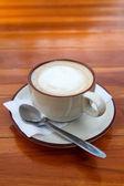 Tasse kaffee latte — Stockfoto