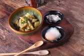 Potato salad with egg — Stock Photo