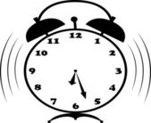 Alarm-clock — Stock Vector