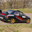 Постер, плакат: Mitsubishi Lancer Evolution rally car