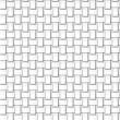 Fiber, paper weaving, seamless pattern — Stock Vector