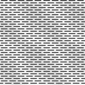 Perforated metal texture, seamless pattern — Stock Vector