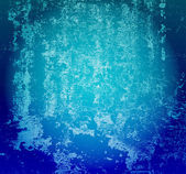 Grunge blue vector background — Stock Photo