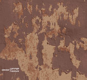 Peeling paint on a wall, grunge texture background — Stock Photo