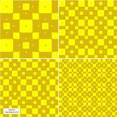 The set seamless pattern texture, yellow — Stock Photo