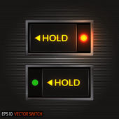 Realistic Toggle Switch — Stock Photo