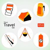 Your travel set — Stock Photo