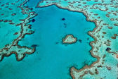 Heart Reef Whitsundays — Foto de Stock