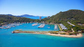 Hamilton island Marina Great Barrier Reef — Stockfoto