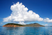 Tropical Island Calm Sea — Stock Photo
