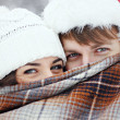 "Stock Photo: "" Winter love story """
