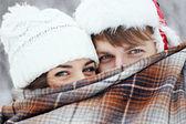 """ Winter love story "" — Stock Photo"