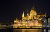 Parliament by night — Stock Photo
